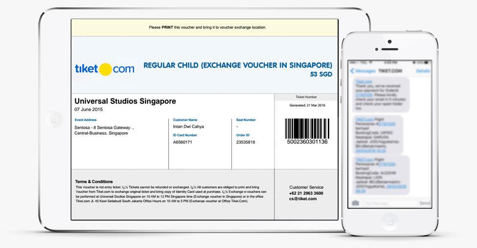 cara pesan tiket event online