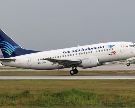 Tempat duduk Garuda Indonesia kelas ekonomi
