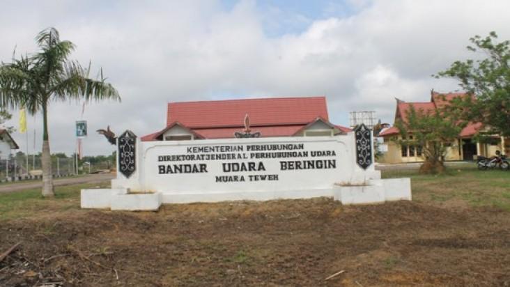 Foto Bandara di Beringin Barito Utara