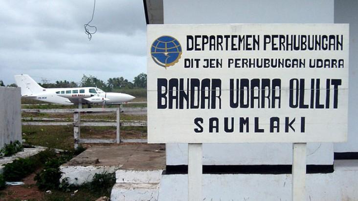 Foto Bandara di Olilit Saumlaki
