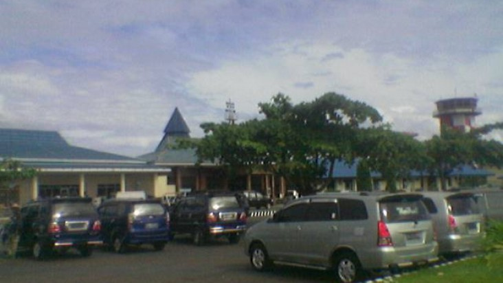 Tempat parkir Nabire