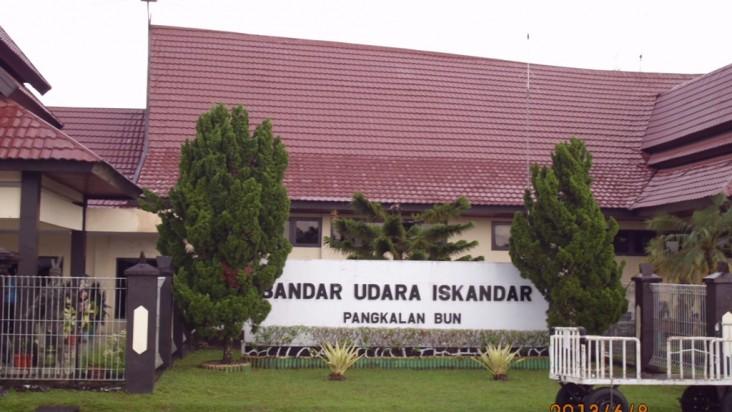 Foto Bandara di Pangkalan Bun Kotawaringin Barat