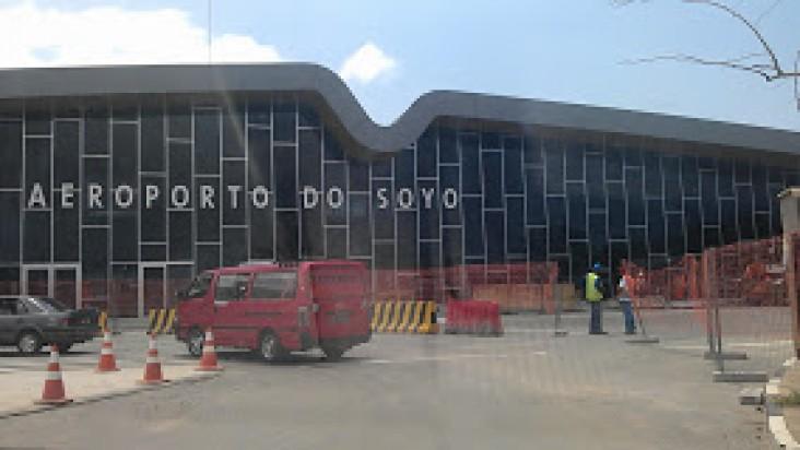 Foto Bandara di Soyo  Zaire