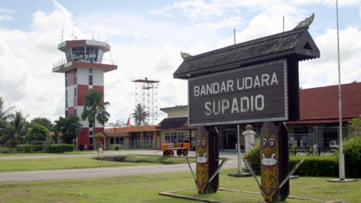 Foto Bandara di Supadio Pontianak