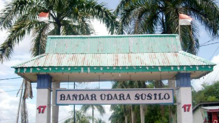 Foto Bandara di Susilo Sintang