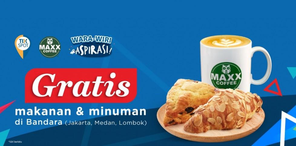 Wara-Wiri TIX Spot Bersama Maxx Coffee