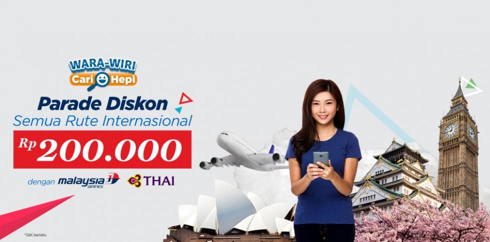 Diskon Rp 200.000 Liburan Ke Luar Negeri