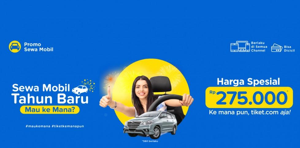 Promo Sewa Mobil - Tahun Baru