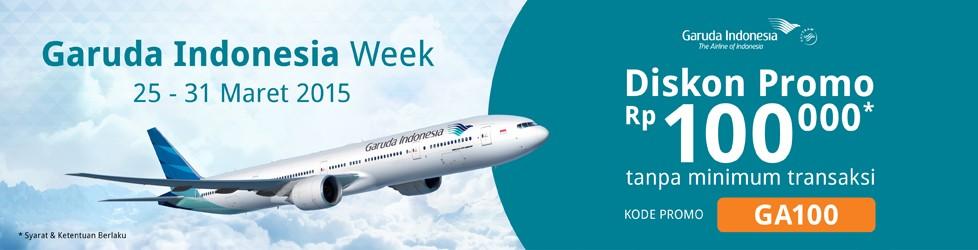 Promo Garuda Indonesia Week Maret 2015