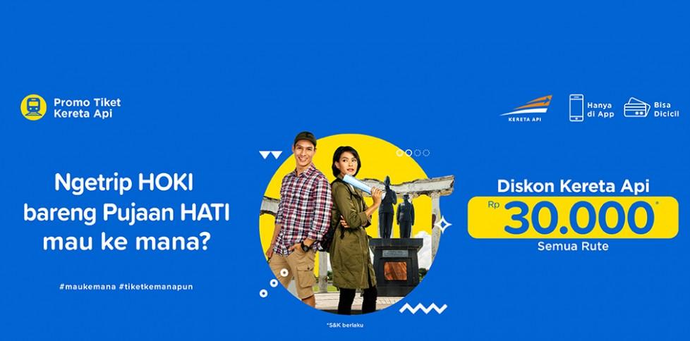 Promo Tiket Kereta - Bulan Penuh Cinta