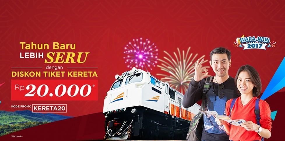 Promo Tiket Kereta Api Online