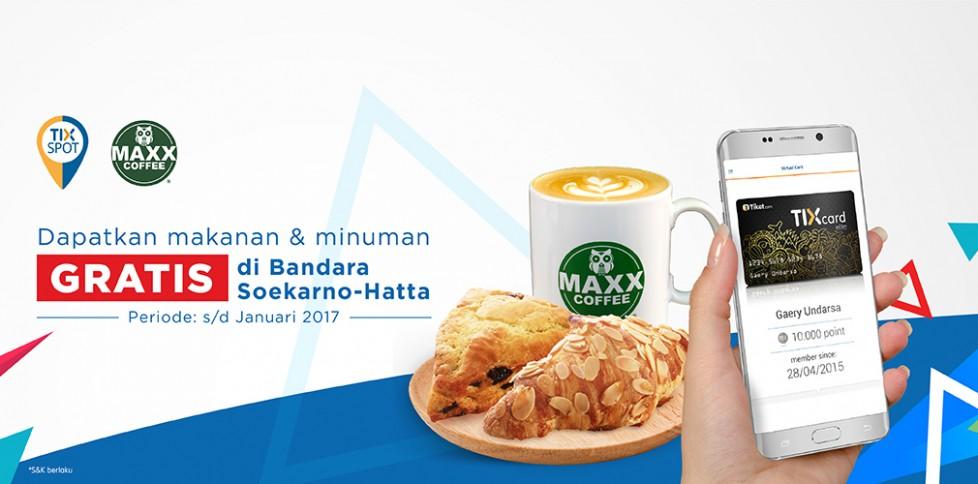 Promo TIX - Maxx Coffee