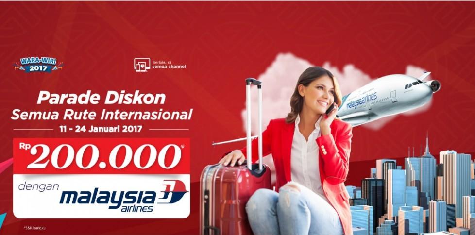 Tiket Promo Penerbangan Internasional