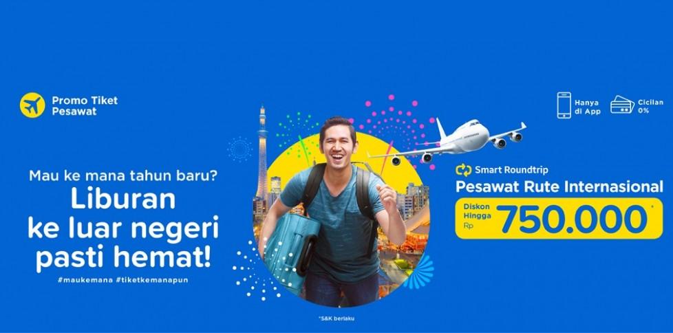 Promo Penerbangan Internasional - Liburan Tahun Baru