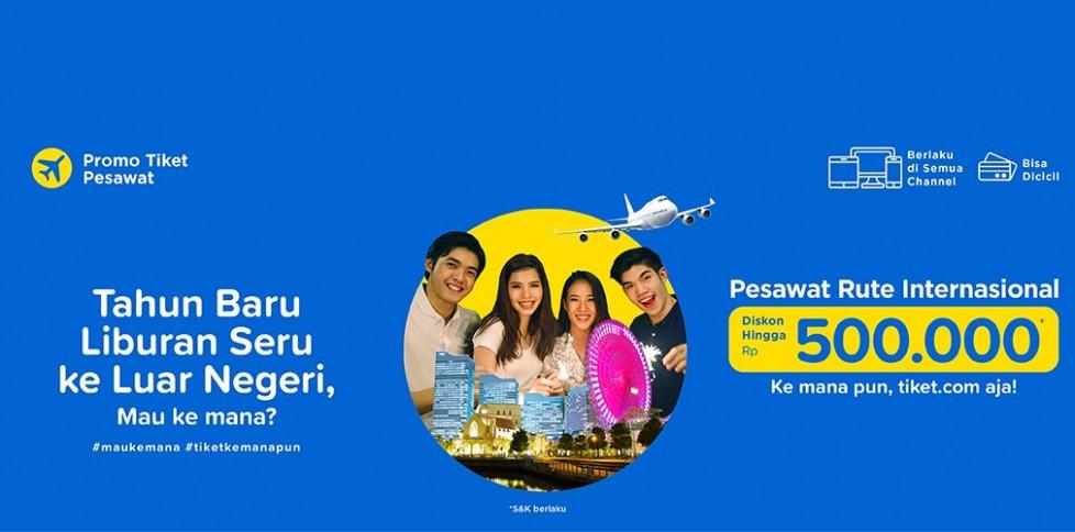 Promo Penerbangan Internasional - Tahun Baru Seru