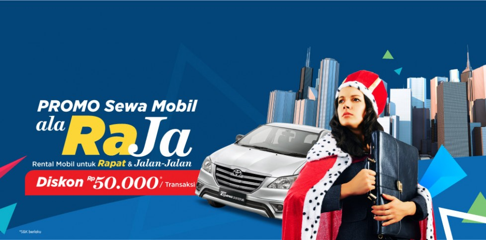 Promo Sewa Mobil Bisnis