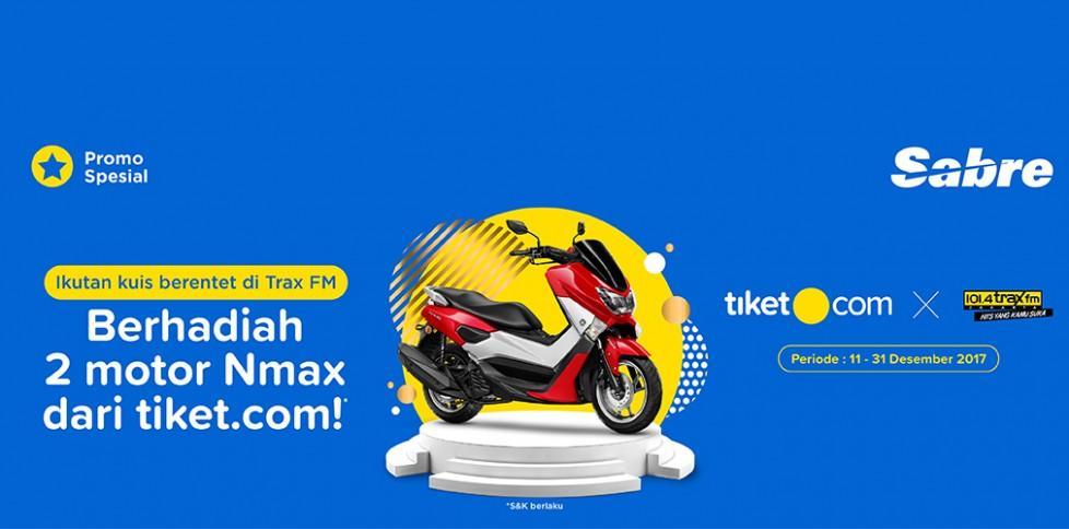 Kuis Berentet - Tiket.com X Trax FM
