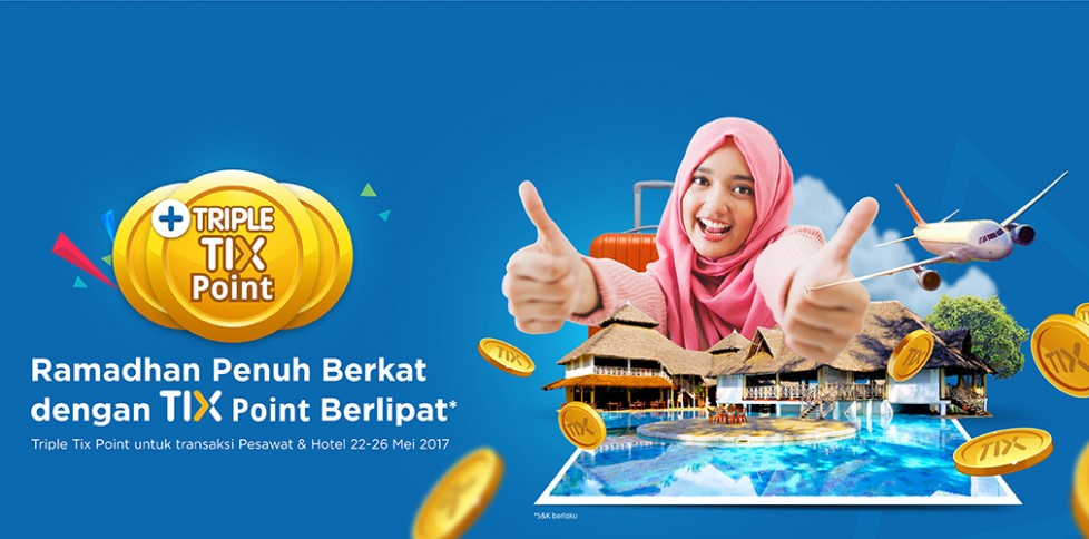 Promo Triple Tix Point Lebaran