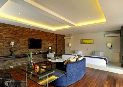 Watermark Hotel and Spa Jimbaran Kamar Tamu