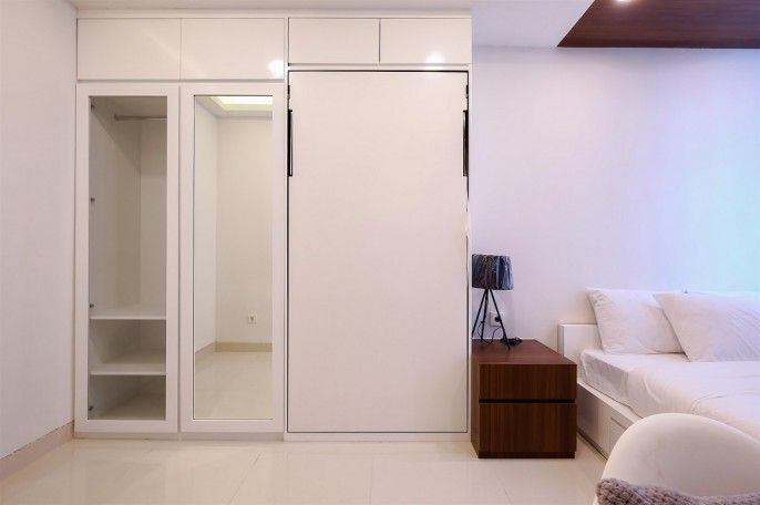 1BR for 3 Pax at Brooklyn Alam Sutera Apartment By Travelio, Tangerang