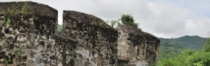 The fort Otanaha Gorontalo