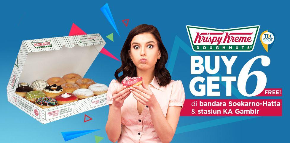 Wara-Wiri TIX Spot...Gratis 6 Donut Krispy Kreme