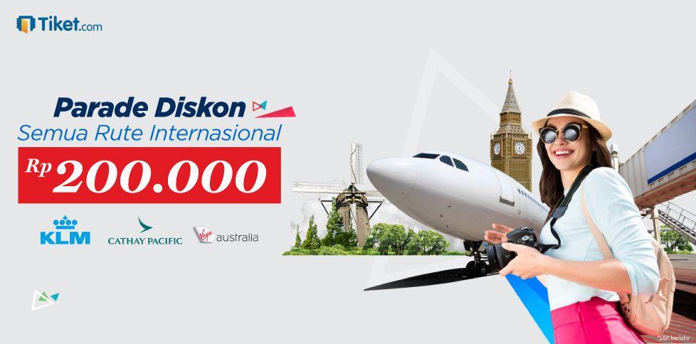 Promo Rp 200.000 Liburan Ke Luar Negeri