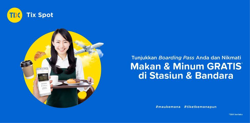 Di Traktir Makanan & Minuman Di Airport Jakarta