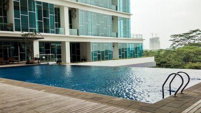 1BR Brooklyn Apartment near BINUS Alam Sutera By Travelio, Tangerang