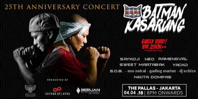 25th Anniversary Batman Kasarung Concert 2018