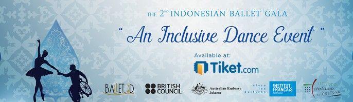 harga tiket 2nd Indonesia Ballet Gala 2017