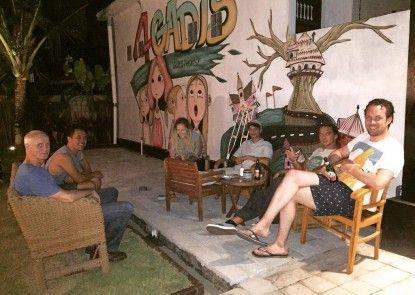 4Gadis Guest House Canggu Teras
