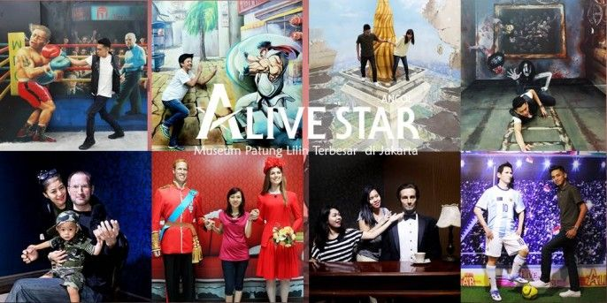 Alive Museum and Alive Star Ancol Jakarta