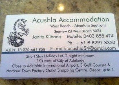 Acushla Accommodation
