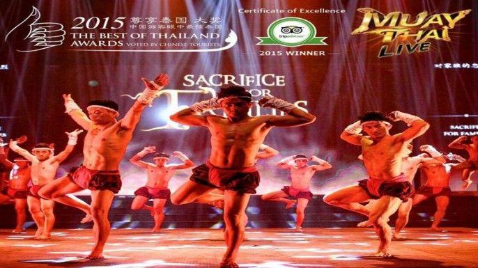 Admission Muay Thai Live Show (Worldwide Markets Except Thai)