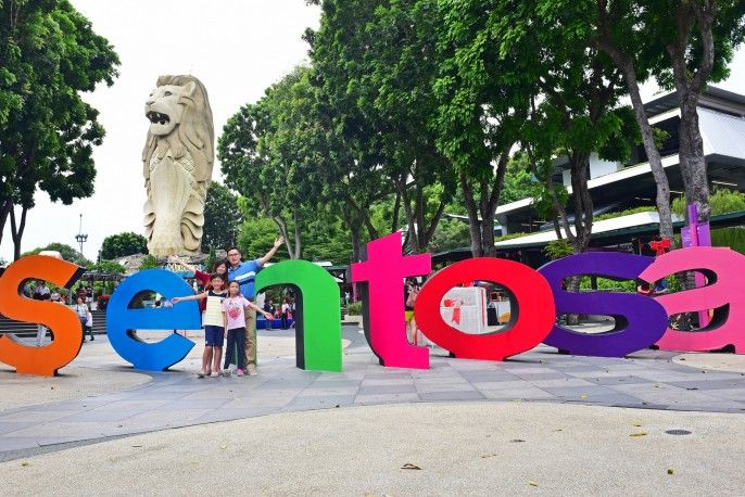 harga tiket Admission to Sentosa with MOSH and Merlion Tower Tickets