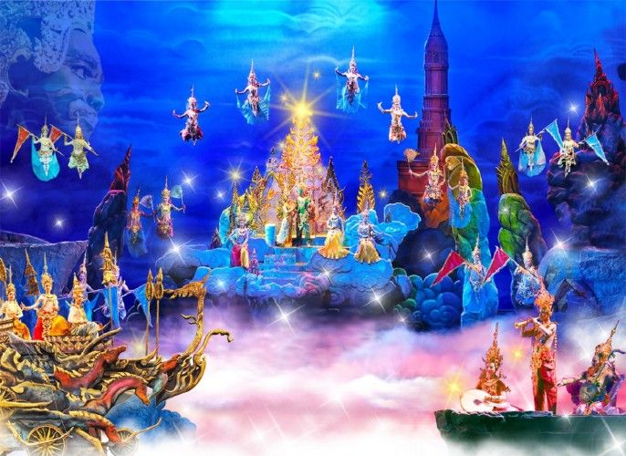 harga tiket Admission to Siam Niramit Phuket (Chinese Markets Only)