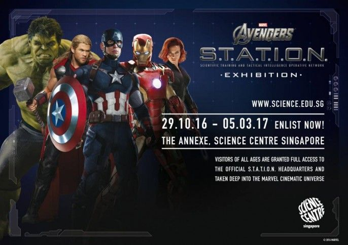 harga tiket Admission to the Avengers S.T.A.T.I.O.N.