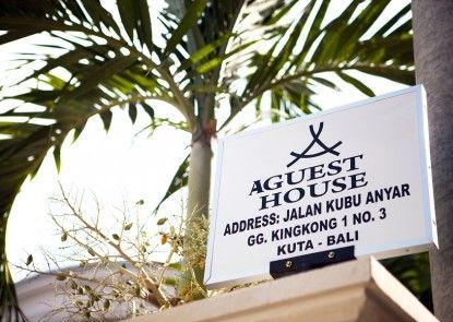 A Guest House Kuta Eksterior
