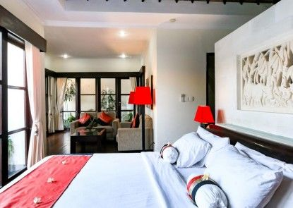 Aleesha Villas and Suites Teras