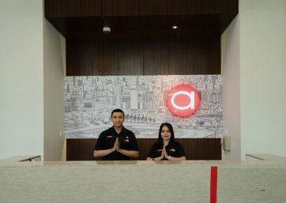 Amaris Hotel Kebon Sirih Lobby