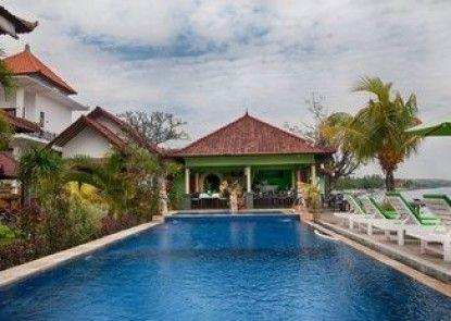 Amed Beach Resort Teras