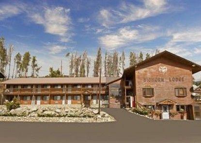 Americas Best Value Inn Bighorn Lodge Teras
