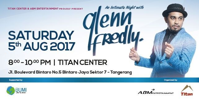 An Intimate Night With GLENN FREDLY 2017