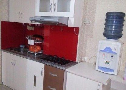 Apartement The Suite@Metro By Prisma Utama Dapur