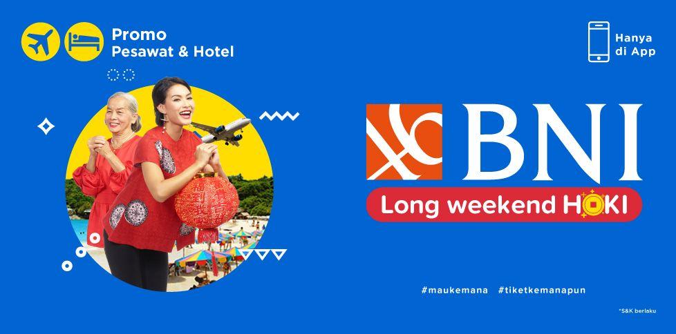 Promo Tiket Pesawat & Hotel hingga Rp 150.000