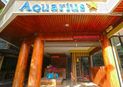Aquarius Star Hotel Teras