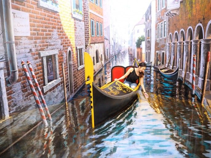 harga tiket Art in Paradise, 3D Art Museum Bangkok