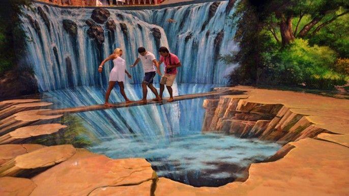 harga tiket Art in Paradise, 3D Art Museum Pattaya