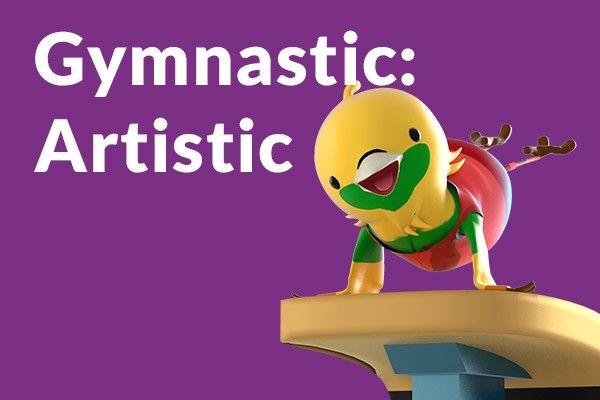 harga tiket ASIAN GAMES 2018 : GYMNASTICS - ARTISTIC